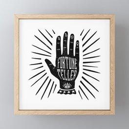 Fortune Teller Framed Mini Art Print