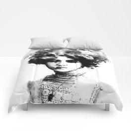 Gray Hair Comforters