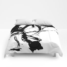 Brushstrokes No.16A by Kathy Morton Stanion Comforters