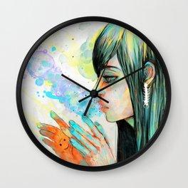 Adios Saliva Wall Clock
