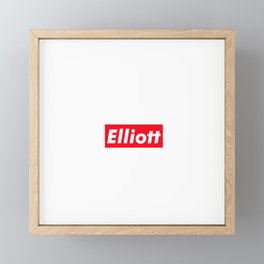 Elliott Framed Mini Art Print