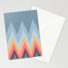 Retro Mountains Stationery Cards