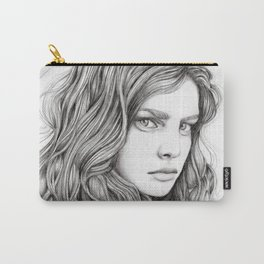 JennyMannoArt Graphite drawing Carry-All Pouch