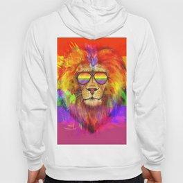 Rainbow Lion Pride Hoody
