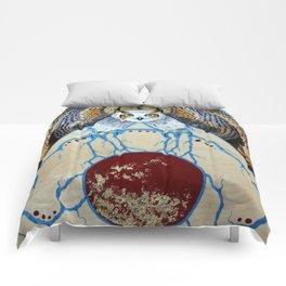 Ganawenimjige (Protector) Comforters