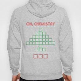 Chemistry Christmas Tree Periodic Table Gift Ho Hoody