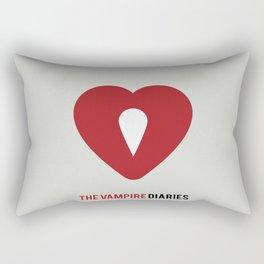 The Vampire Diaries - Minimalist Rectangular Pillow