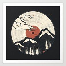MTN LP... Art Print