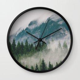 Vancouver Fog Wall Clock