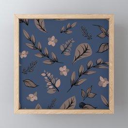 Flower Design Series 7 Framed Mini Art Print
