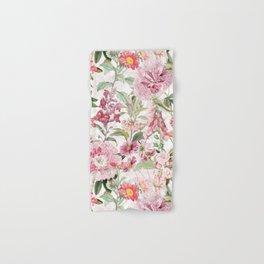 Vintage & Shabby Chic - Botanical Pink Springflowers Meadow Hand & Bath Towel