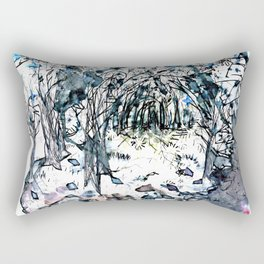 Chaos Forest Rectangular Pillow