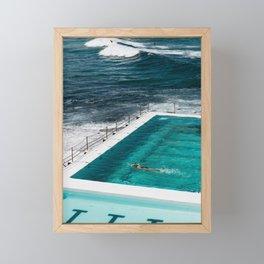 Bondi Icebergs Club I art print Framed Mini Art Print