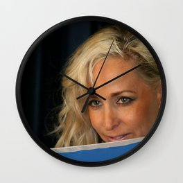Peep Girl Wall Clock