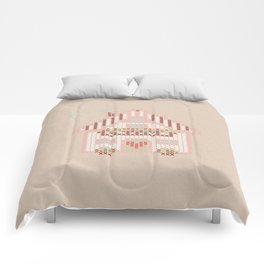 Cute little house cross stitch Comforters