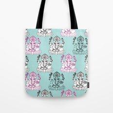 Modern Ganesh Indian handdrawn doodle illustration Tote Bag