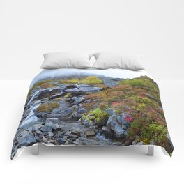 Independence Mine Waterfall Comforters