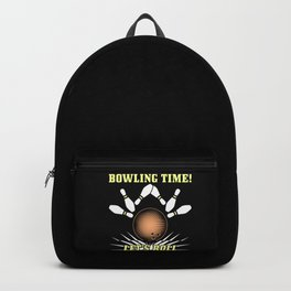 Bowling - Bowling Time Let's Roll Backpack