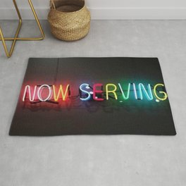 Now Serving Rug