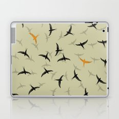 spiral birds Laptop & iPad Skin