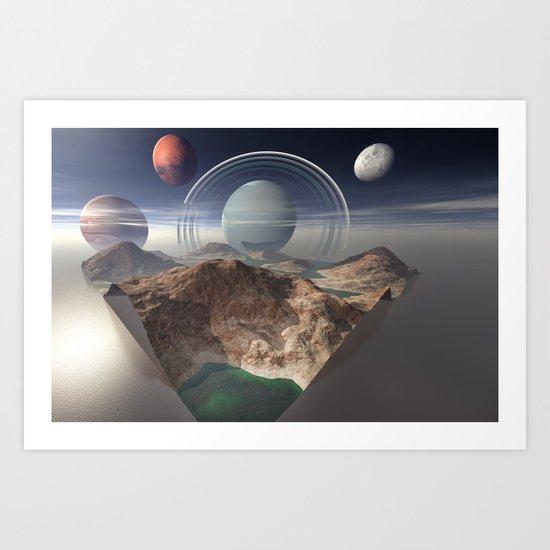 Bay of Jupiter Art Print
