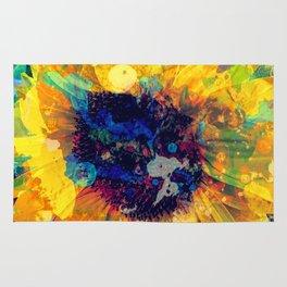 Sunflower Batik Rug