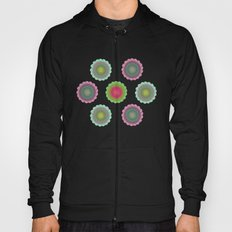 transparent floral pattern 3 Hoody