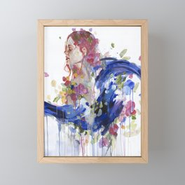 Bouquet of Emotions Framed Mini Art Print