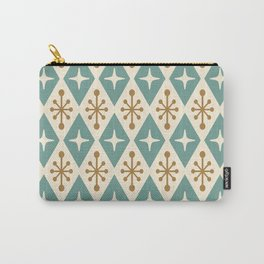 Mid Century Modern Atomic Triangle Pattern 102 Carry-All Pouch