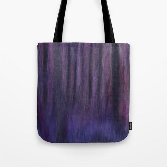 Painted Trees 2 Purples Tote Bag