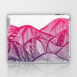 Lines in the mountains 05 Laptop & iPad Skin