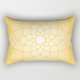 The Solar Plexus Chakra Rectangular Pillow