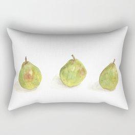 Trio of Pears Rectangular Pillow