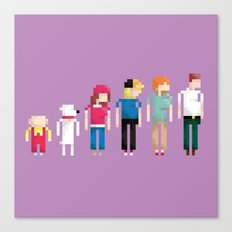 Family Guy Canvas Print