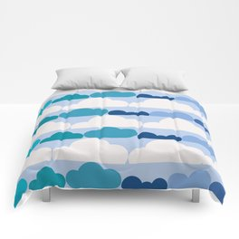 Simply Clouds Comforters
