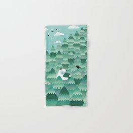 Tree Hugger (Spring & Summer version) Hand & Bath Towel