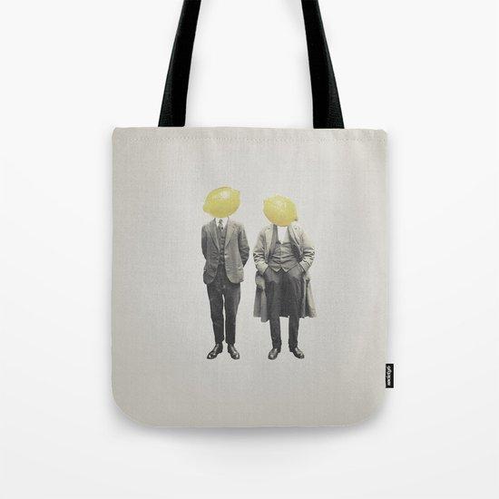 Lemon Mugshot Tote Bag