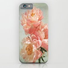 Still life with Peonies Slim Case iPhone 6s