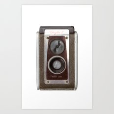 Vintage Duaflex Camera Art Print