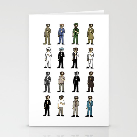 Woody Allen's Stationery Cards