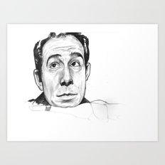 Ugo Tognazzi Tribute Art Print