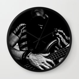 Slap the bass Wall Clock