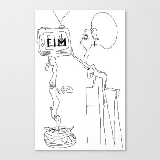 FIM FOR KNOWLEDGE Canvas Print