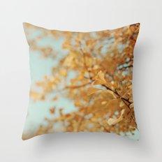 Ginkgo #6 Throw Pillow
