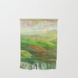 Lines in the mountains XVI Wall Hanging