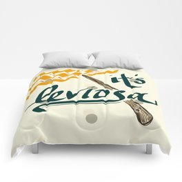 It's Leviosa Magic Wand Design Comforters
