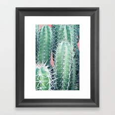 Cactus Up Close #society6 #decor #buyart Framed Art Print