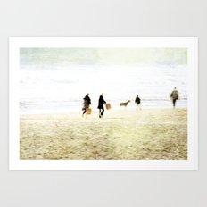 People ~ family Art Print