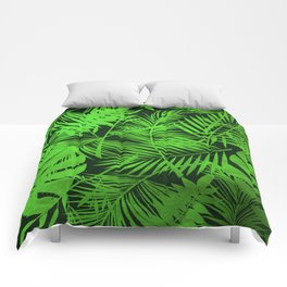Jungle Leaves Comforters