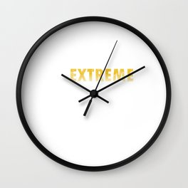 Serve Racquet Court Racket Rally Shuttlecock Extreme Badminton Gift Wall Clock